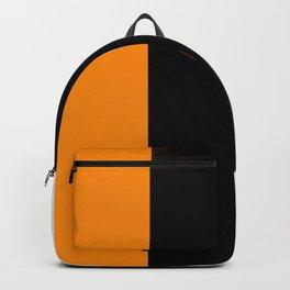 Team Colors 7...orange,black,white Backpack