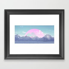 Moon Rise Framed Art Print