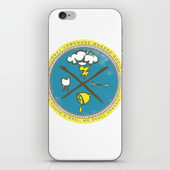 National Lemonade Makers Society Crest iPhone & iPod Skin