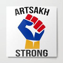 Artsakh Strong Metal Print