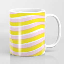 waves at sunrise Coffee Mug