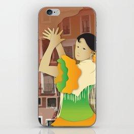 Hispanic Heritage Series - Espana Flamenco Dancer iPhone Skin