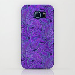 paisley paisley purple iPhone Case