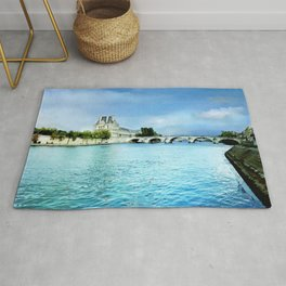 Seine River - Paris France Rug