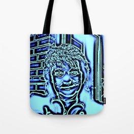 Neon-portrait Tote Bag