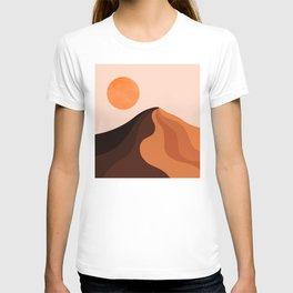 Abstraction_SUN_MOUNTAINS_Bohemian_Minimalism_002 T-shirt