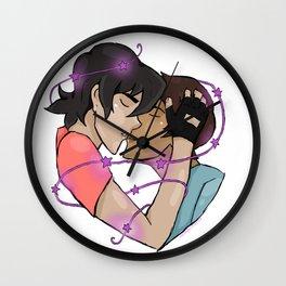 Klance kiss Wall Clock