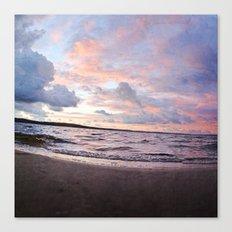 l'aube du hibou Canvas Print