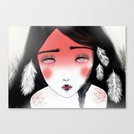 Moonchild Canvas Print