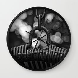In chains Wall Clock