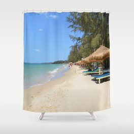 Otres Beach Sihanoukville Cambodia Shower Curtain