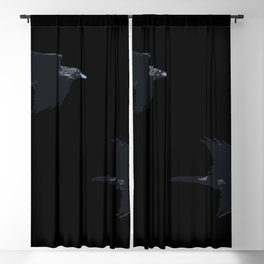 Thought and Memory Norse Pagan Symbology Blackout Curtain