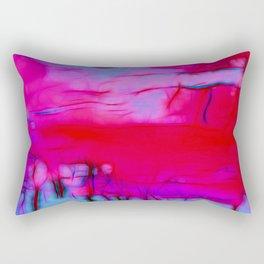 Pink Storm Rectangular Pillow
