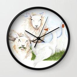 Imprinting Wall Clock
