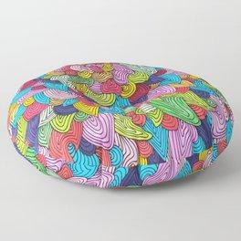 Color Burst Floor Pillow