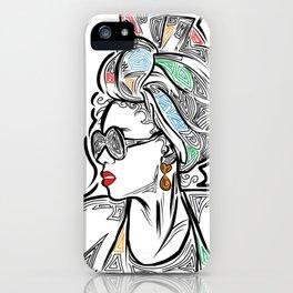 Over My Shoulder iPhone Case