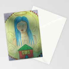 From West to East Stationery Cards