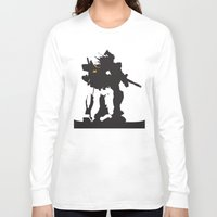 gundam Long Sleeve T-shirts featuring Gundam RX-78-2 by Jason Weisbrot