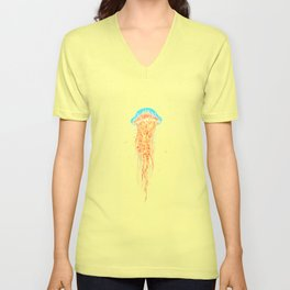 Space Jelly Unisex V-Neck
