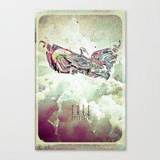 Free Yourself Eagle Canvas Print