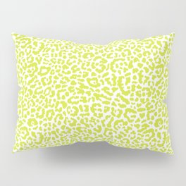 Chartreuse French Leopard Print Pillow Sham