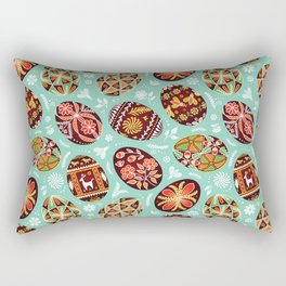 Pysanky Rectangular Pillow