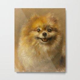 Pomeranian Painting #2 Metal Print
