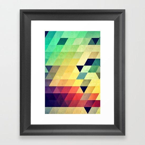 Xyv Framed Art Print