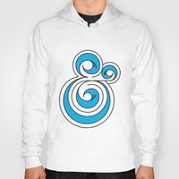 ampersand Hoodies featuring Ampersand by Micah Lanier