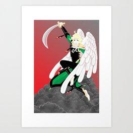 moloch Art Print