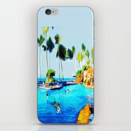 Corky's diving iPhone Skin