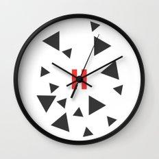 Opposite III Pause Wall Clock