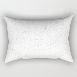 Never-underestimate-an-old-man-who-was-born-in-may Rectangular Pillow