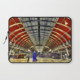 Paddington Railway Station Art Laptop Sleeve
