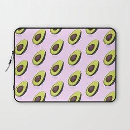 Avocado organic print Laptop Sleeve