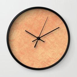 Georgia Peach Wall Clock