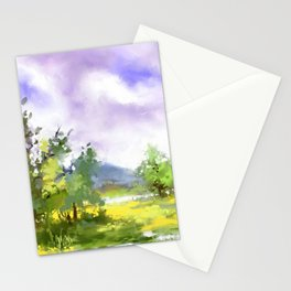 After summer storm Stationery Cards