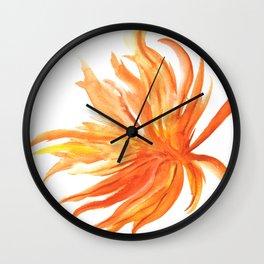 Hoja de Palmera Wall Clock