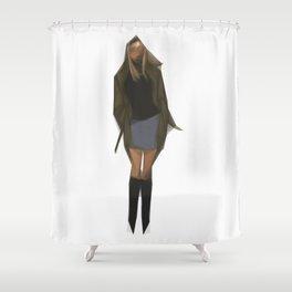 Gwen Stacy Shower Curtain