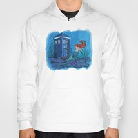 hallion Hoodies featuring Part of Every World by Karen Hallion Illustrations