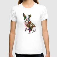 boston T-shirts featuring boston bull by bri.buckley