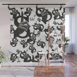 Sshh! Wall Mural