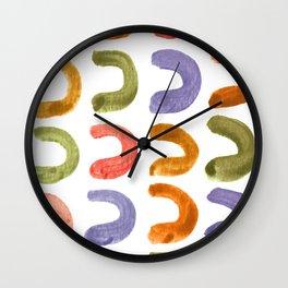 Fruit Loops Wall Clock