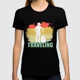 Retro Traveling Tee Shirt T-shirt