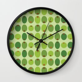 Olive You Very Much Wall Clock