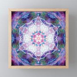 Mandalas from the Depth of Love 7 Framed Mini Art Print