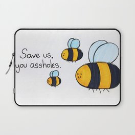 Bees!!! Laptop Sleeve