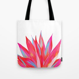 Sunny Agave Fringe Illustration Tote Bag