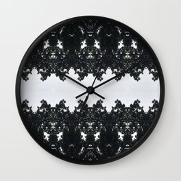 Tiles & Motifs - Nature's Lace Wall Clock