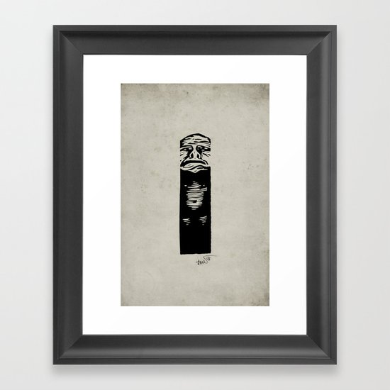 The Pit Framed Art Print